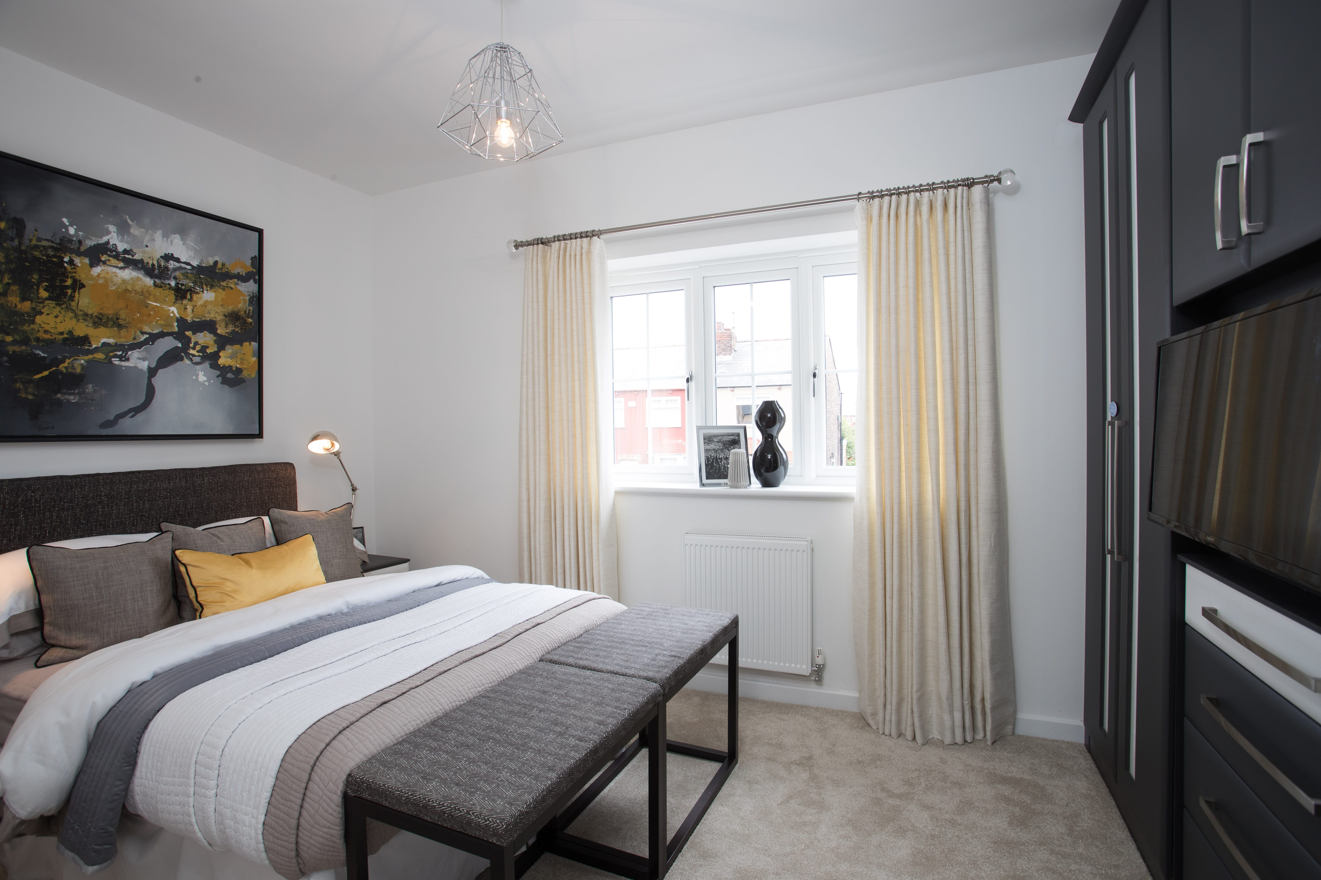 Show Home Bedroom Interiors. For Details Of How To Replicate This ...