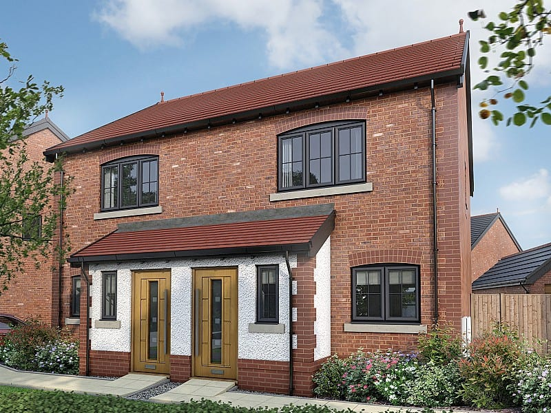The Byrne, a two bedroom home available from £199,995 or £159,996 with Help to Buy