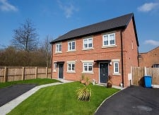 Halton Housing properties at Bower Brook Gardens