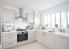 The bright and airy kitchen in The Turner showhome