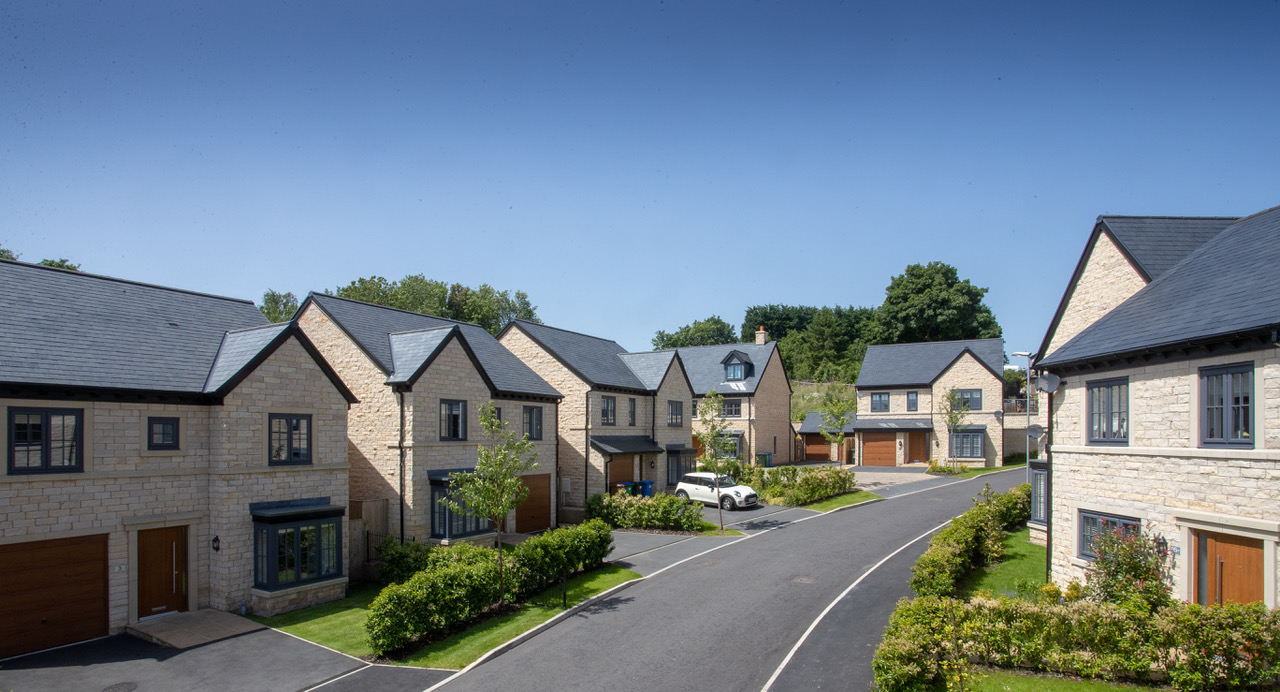 Greenbooth Village is a new 'hillside hamlet' in Norden Rochdale