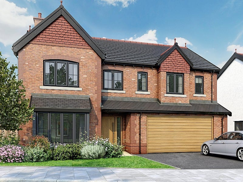 The 5 bedroom Millward, available at Saltersford Gardens from £449,995