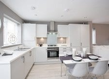 Showhome kitchen / diner at Bower Brook Gardens in Widnes