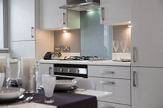 Showhome kitchen at Bower Brook Gardens