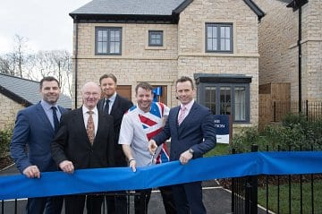 Russell Homes, Greenbooth Village, Norden, Showhome opening