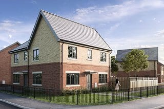CGI of The Douglas at Bower Brook Gardens by Russell Homes