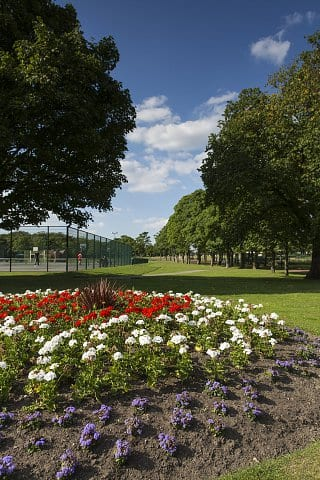 Local park near Bower Brook Gardens in Widnes, by Russell Homes