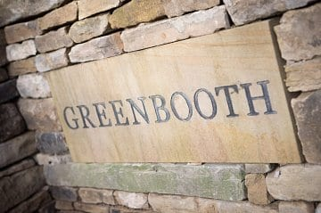 Greenbooth Village Russell Homes Sign