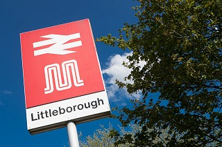 Littleborough Station Sign