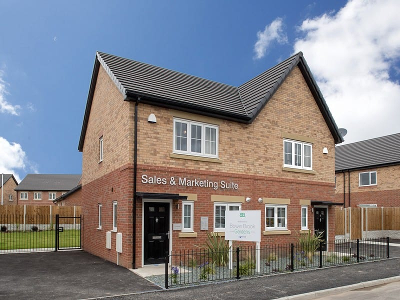 Russell Homes' sales and marketing suite at Bower Brook Gardens