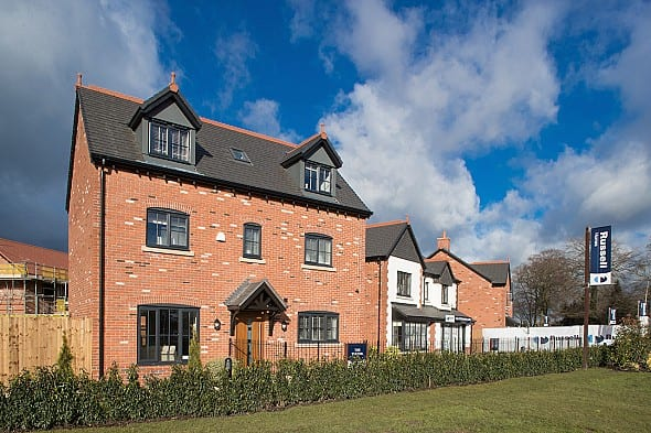 New Builds For Sale In Homes Chapel At Saltersford Gardens