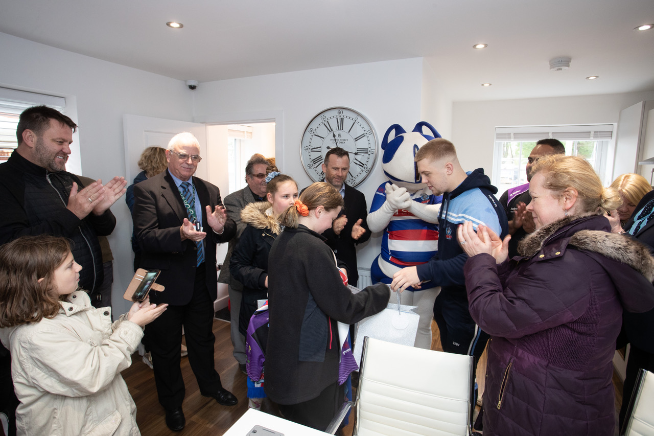 Russell Homes Cedar Gardens Heywood Show home opening 25