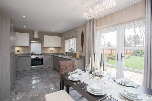 Greenbooth Village, New homes in Norden