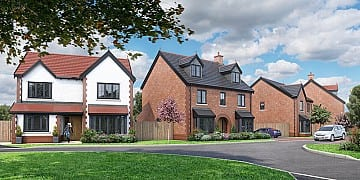Saltersford Gardens Sales Launch, Holmes Chapel, Russell Homes