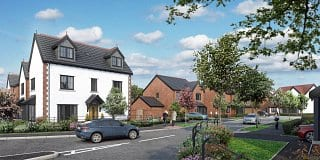 Saltersford Gardens, Holmes Chapel, Russell Homes, CGI2
