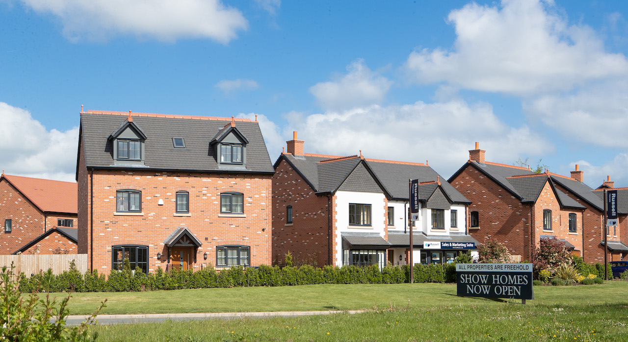The stunning Saltersford Gardens in Holmes Chapel from Russell Homes